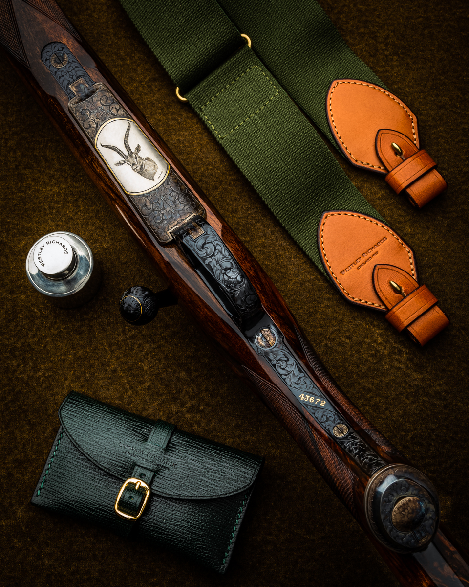 .270 WSM Westley Richards 'Plains Game' Rifle