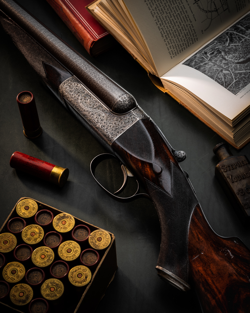 Magnificent Vintage Westley Richards 8 Bore Droplock Wildfowling Gun