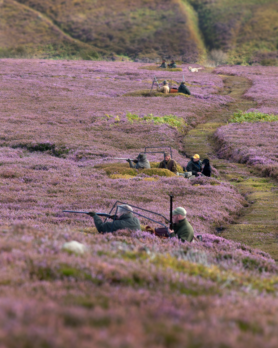 Grouse Season Begins. A Photographic Essay.