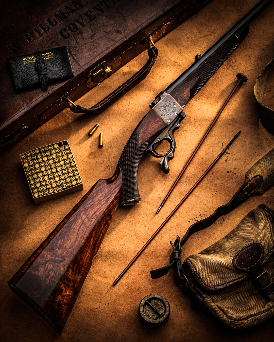 Another Rare Westley Richards 1897 Model 'Rook & Rabbit' Rifle