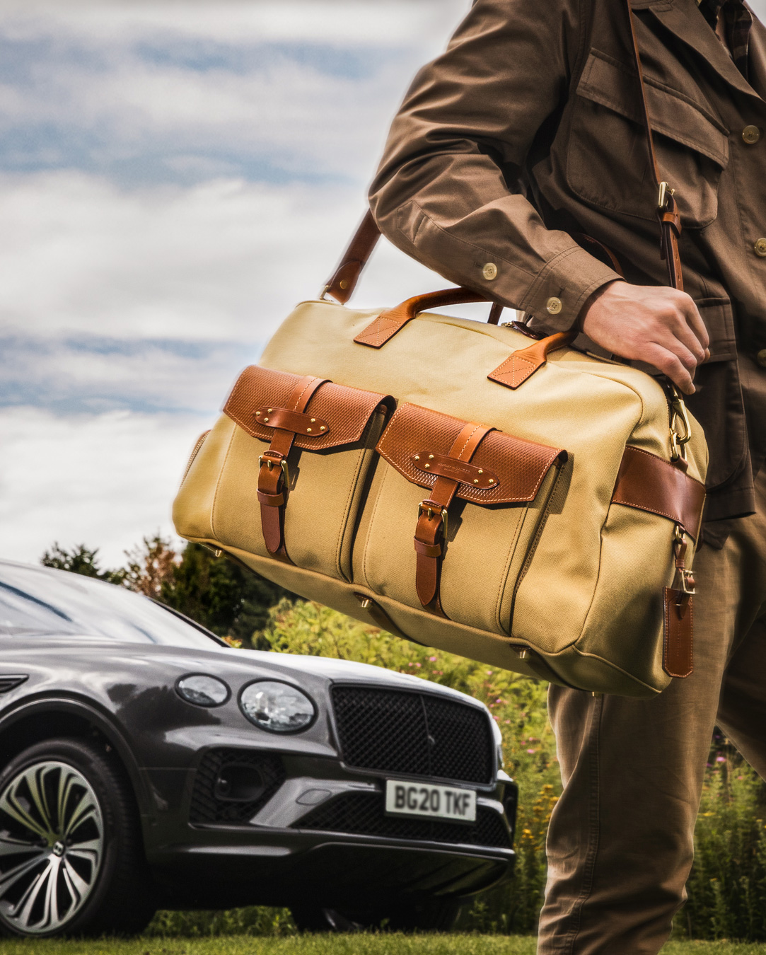 Time To Explore - Westley Richards Travel Bag Shoot
