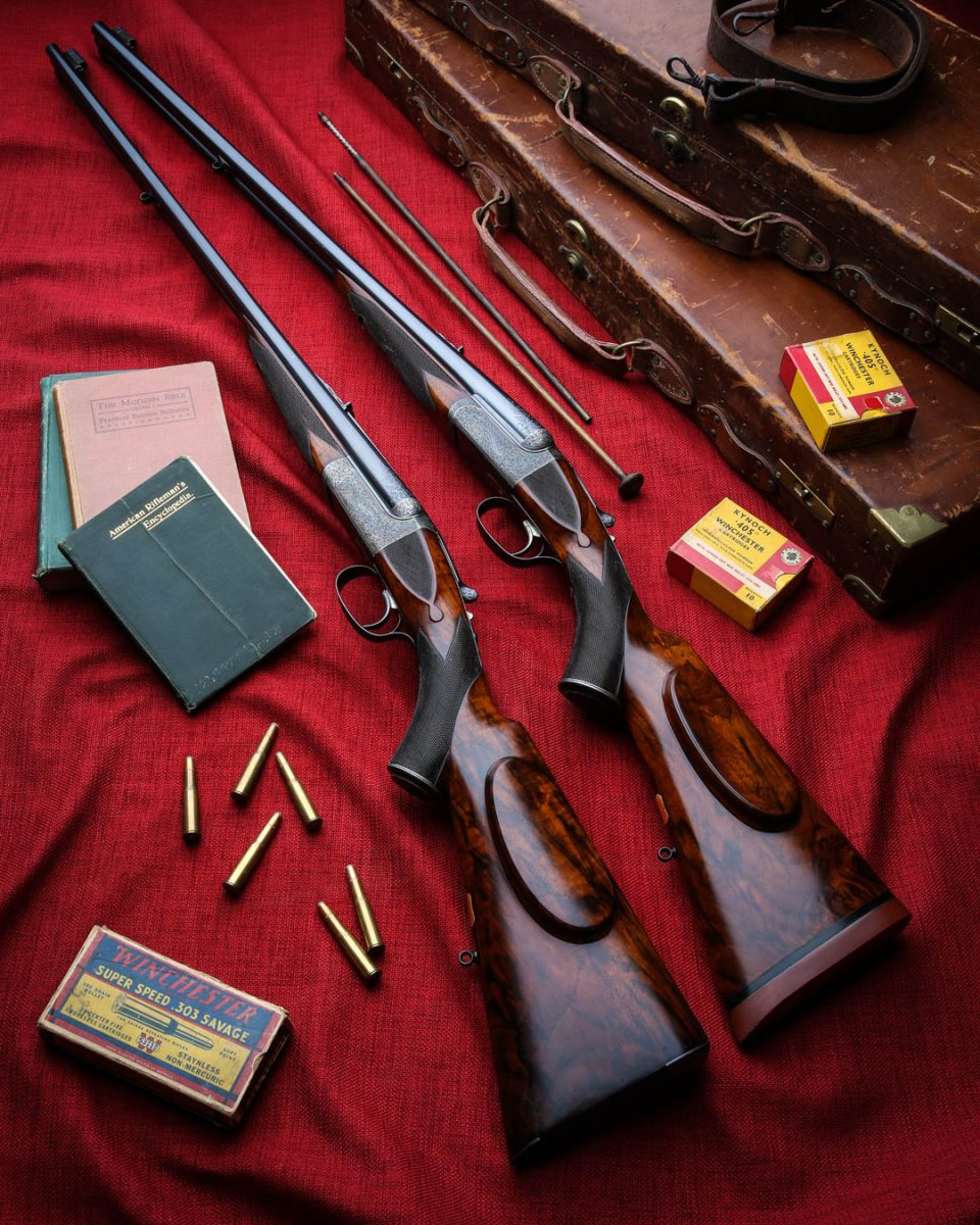 Two of Westley Richards Best Double Rifles