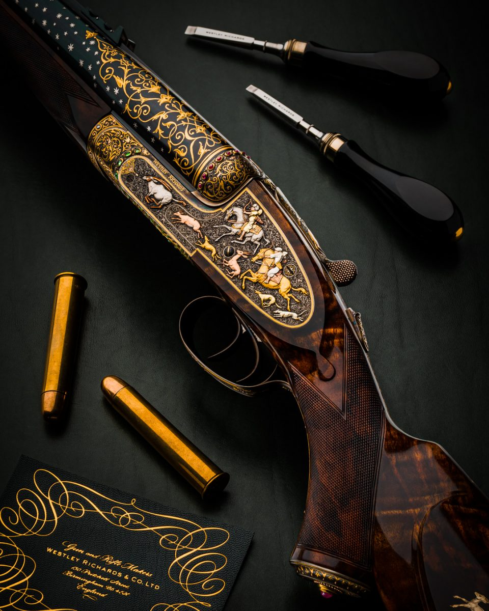 Truly Spectacular Westley Richards .577 Sidelock Double Rifle