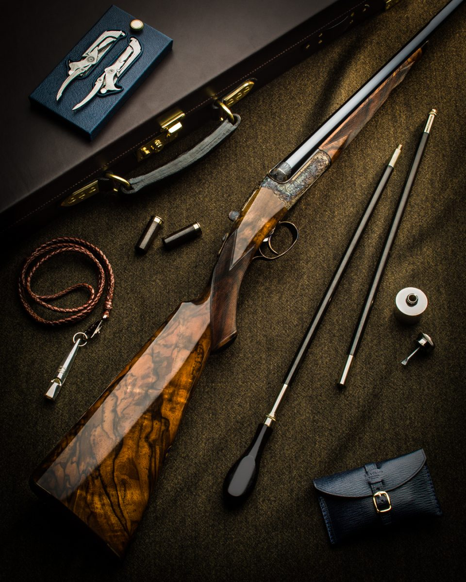 Westley Richards Hand Detachable Lock Shotgun