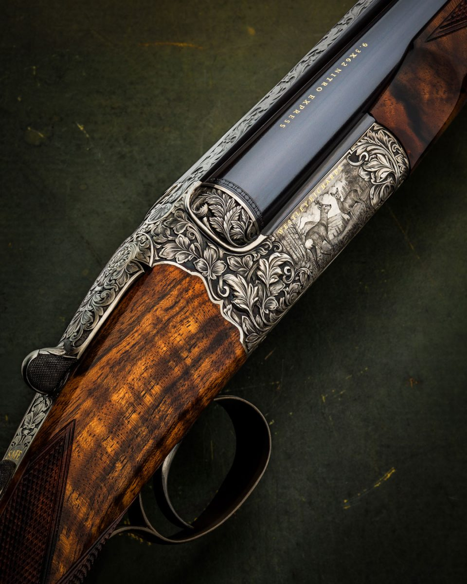 Westley Richards Hand Detachable Lock Double Rifle