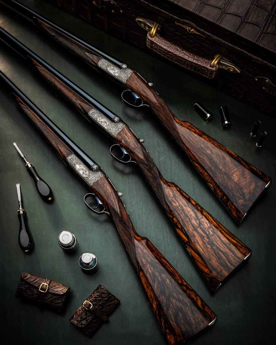 Exotic Westley Richards 'Falcon Trio' Completed
