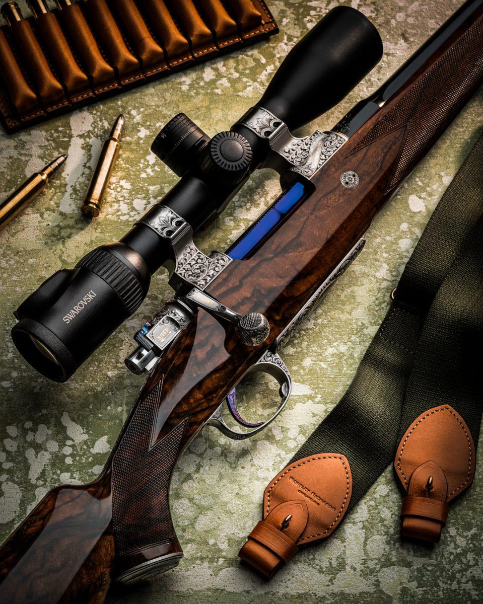 Stunning Westley Richards 'Plains Game' Magazine Rifle