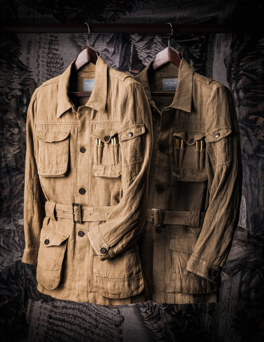 The Safari Jacket's Origins in the Indian Subcontinent