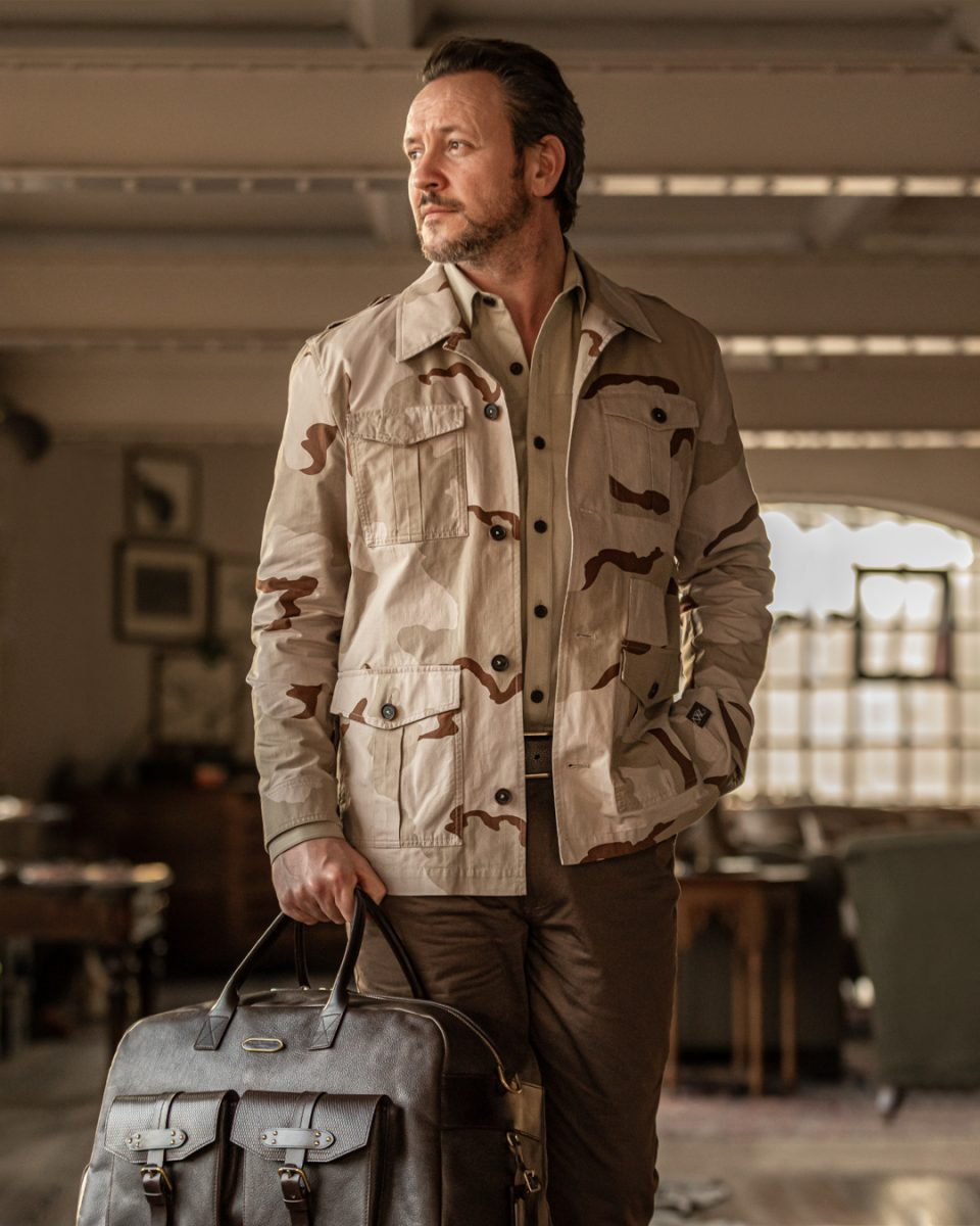 Inspired by a Legendary WR Client - The New Safari Travel Jacket