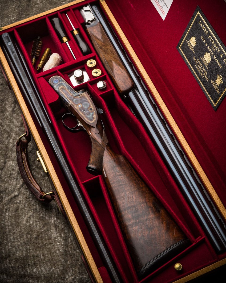 Two Purdey Best Quality O/U's For Sale at the U.S. Agency