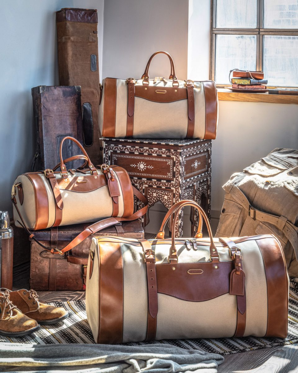 The Evolution of the Sutherland Travel Bag - Featuring New Brassware