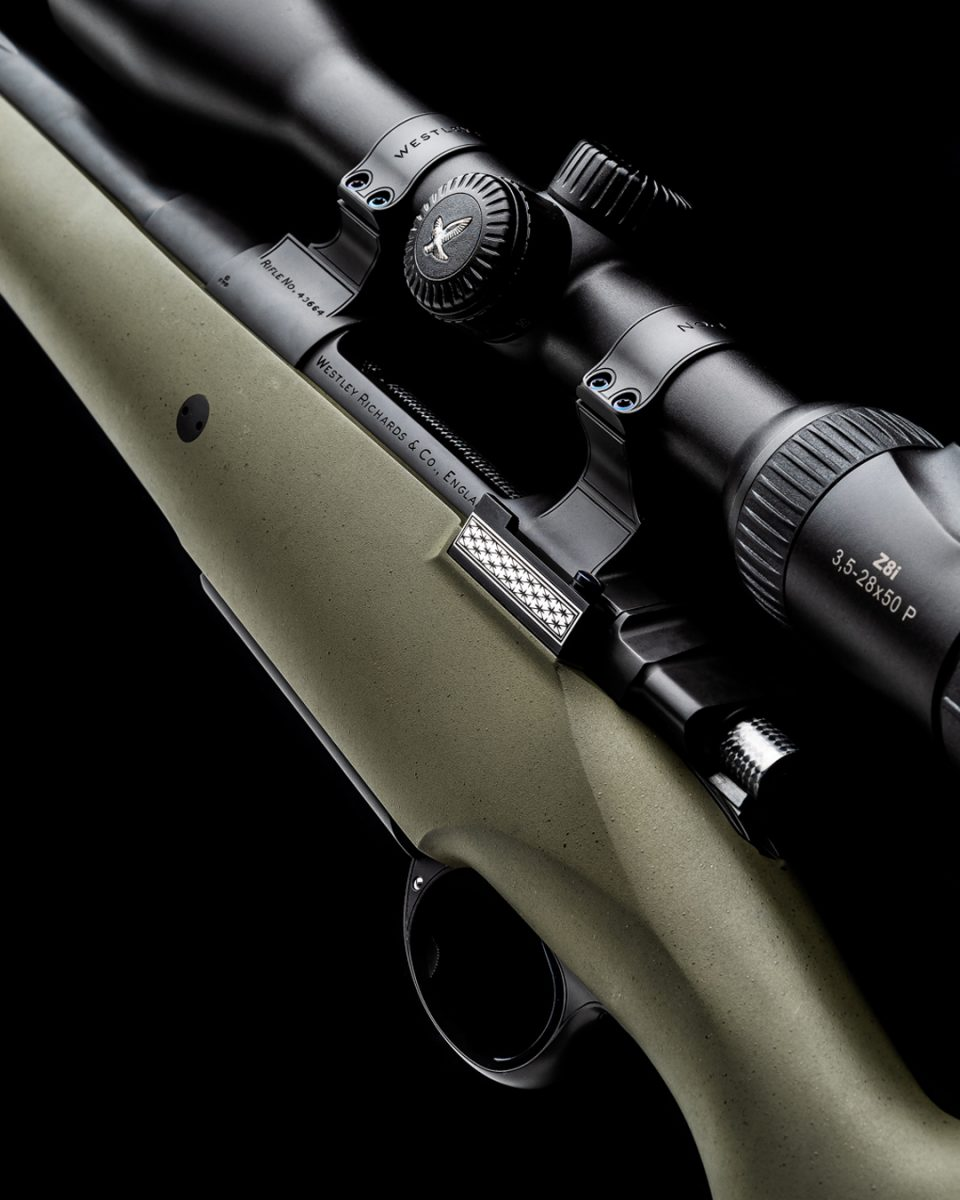 A Westley Richards First - Synthetic All Weather Mountain Rifle