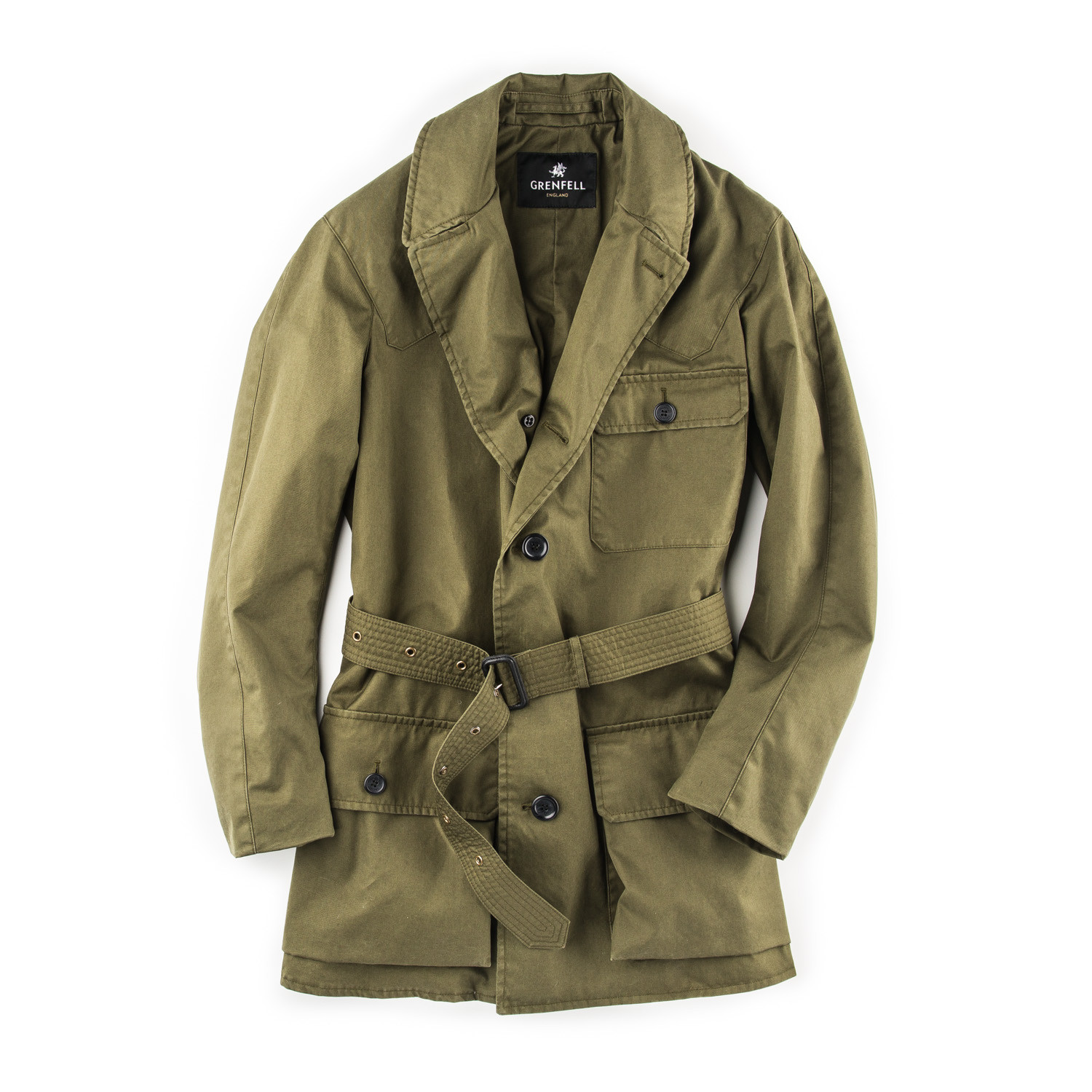 4ae93c994adc3 Grenfell - The Shooter Jacket - Green | W.R. & Co Ltd