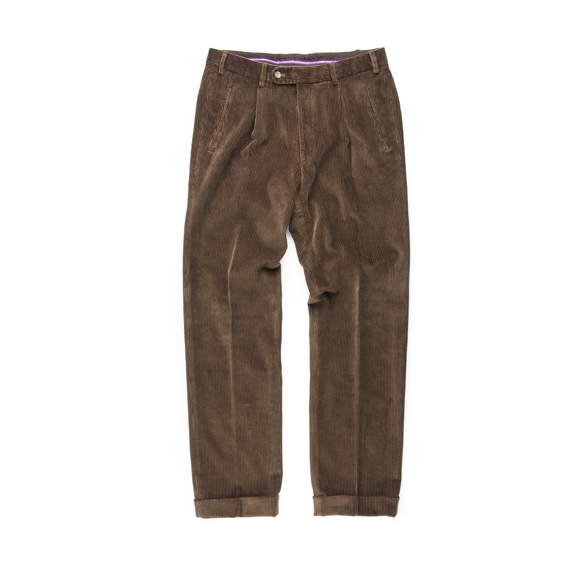 hot product comfortable feel street price Hiltl - Relaxed Fit Corduroy Trousers - Brown