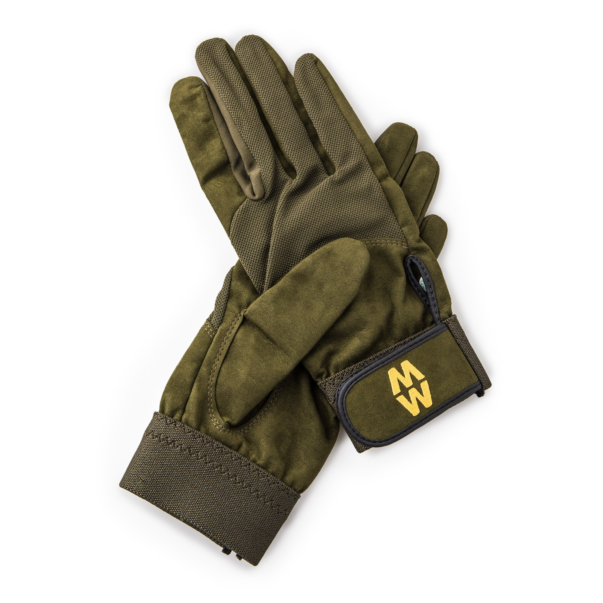 Macwet Mens /& Womens 1 Pair Long Mesh Sports Gloves 9 Green