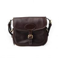 Westley Richards 'Perfecta' Cartridge Bag in Dark Tan