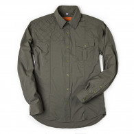 Westley Richards Game Scout Technical Safari Shirt in Woodland