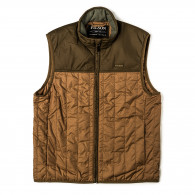Filson Ultra Light Weight Vest in Dark Tan