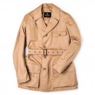 Grenfell The Shooter Jacket in Biscuit
