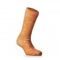 Rototo Double Face Merino Wool Socks in Orange
