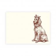 Alexa Pulitzer Royal Retriever A6 Note Cards - Set of 10