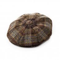 Westley Richards Redford Tweed cap in Highland Brown
