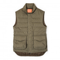 Westley Richards Pathfinder Quilted Gilet in Hunter Green