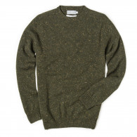 Westley Richards Longhaven Cashmere Sweater in Loden