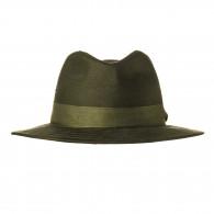 Westley Richards Hunting Hat with Green Herringbone Band