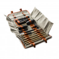 Westley Richards Tool Roll With Accessories in Swiss Army Fabric
