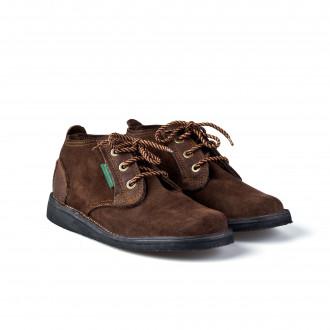 Courteney Boot Company Vellie Shoe - Dark Tan