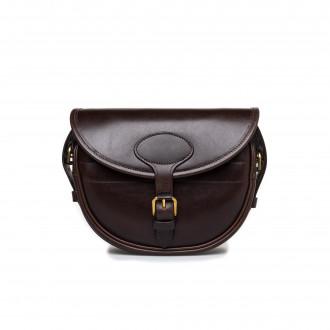 Westley Richards 100Rd Anson Cartridge Bag in Dark Tan