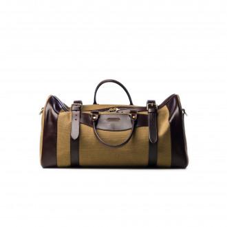 Westley Richards Medium Sutherland Bag in Sand & Dark Tan