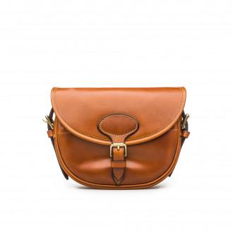 Westley Richards 100Rd Anson Cartridge Bag in Mid Tan