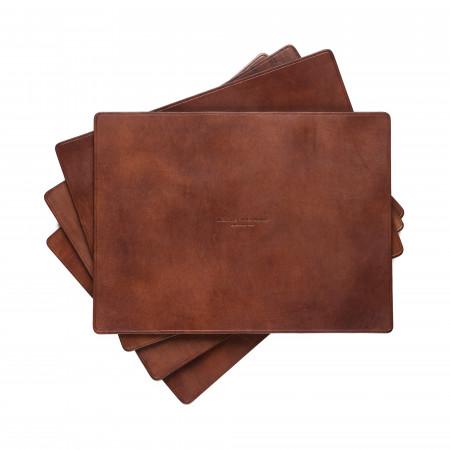 Leather Place Mat Set