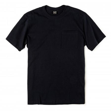 Short Sleeve Outfitter One-Pocket T-Shirt in Dark Navy