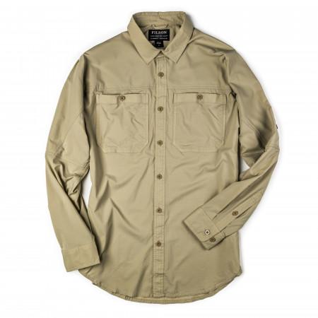 Alagnak Long Sleeve Shirt in Sand Bar