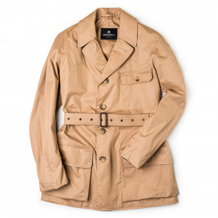 The Shooter Jacket in Biscuit