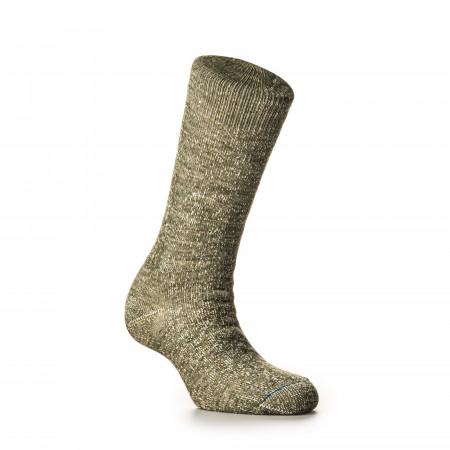 Rototo Double Face Merino Wool Socks in Army Green