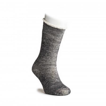 Double Face Merino Wool Socks in Charcoal