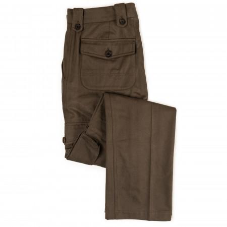 Westley Richards Safari Trousers in Bark