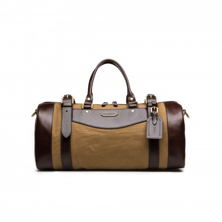 Small Sutherland Bag in Sand and Dark Tan