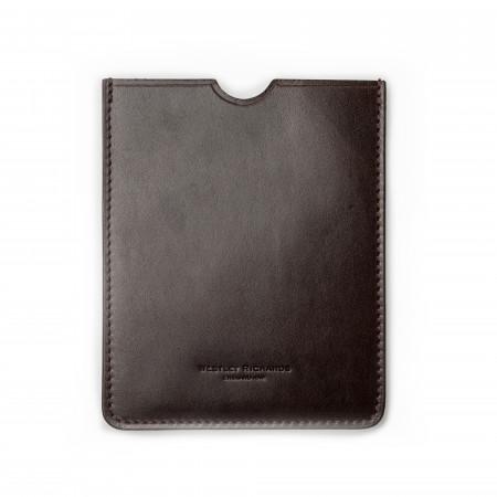 European Certificate Wallet in Dark Tan