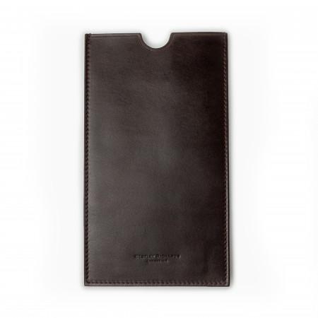 Certificate Wallet in Dark Tan