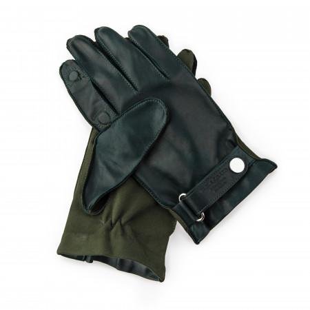 Premium Shooting Gloves in Green