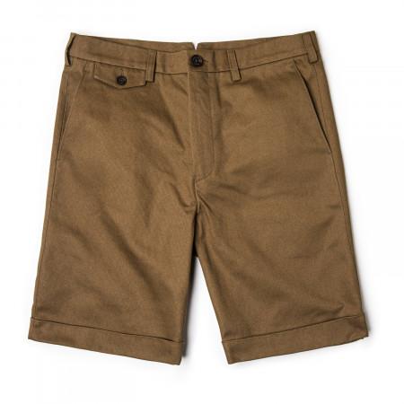 Westley Richards Pathfinder Twill Shorts in Rye