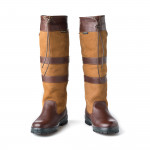 Galway Boot In Brown Mahogany
