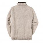 Men's Pure Cashmere Fur Lined Cardigan