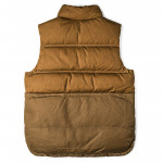 Down Cruiser Vest in Dark Tan