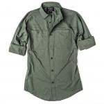 Alagnak Long Sleeve Shirt in Grey Moss